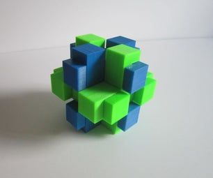3D Printed Brain Teaser Puzzle