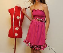 How to Sew a Cute Summer Sun Dress and Make Your Own Clothes