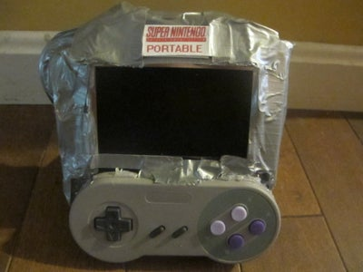 Duct Tape Super Nintendo Portable: a Step by Step Guide.