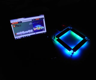 Controllable Led (Music Visualizer + IoT)