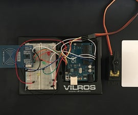 Arduino RFID Deadbolt Modification: Using an Arduino UNO Microcontroller and an RFID Sensor to Lock and Unlock a Deadbolt With a Servo