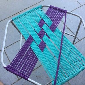 Second Color Weaving