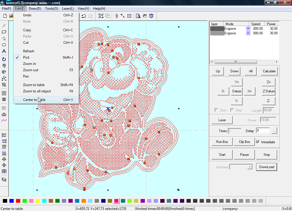 Picture of Import the Vector File