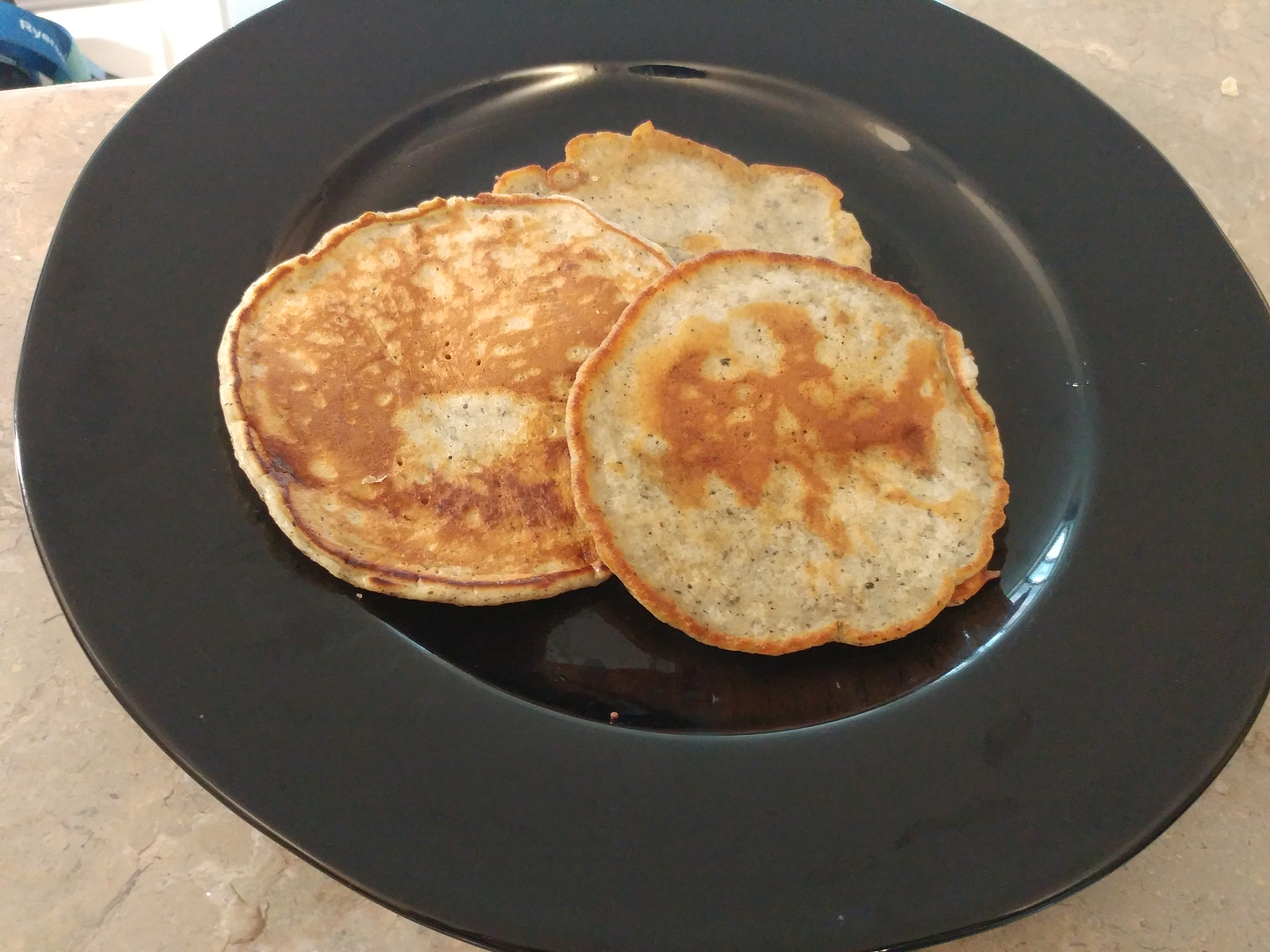 Picture of Black Sesame Pancakes