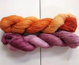 Grad Dyed Yarn Using Fiber Reactive Dye