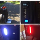 The Burn Wheel - Airwheel with Integrated Biometrics and Lighting