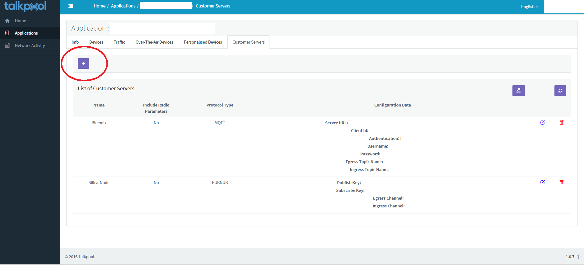 Picture of Register Device on Talkpool