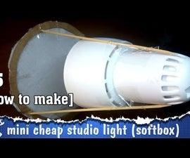 The cheapest DIY SoftBox (studio light)
