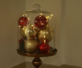 XMas Decoration in a Dome