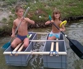 Sustainable EURO Box Raft