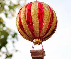 How to Make a Hot Air Balloon Ornament