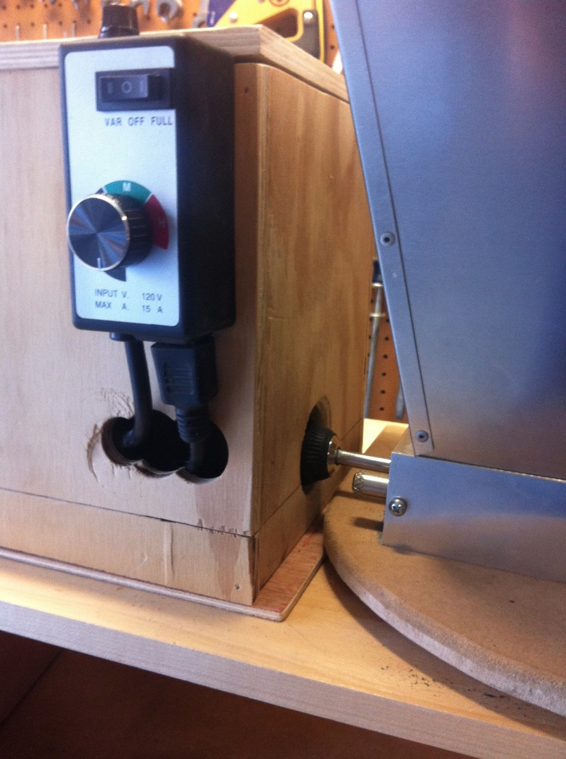 Picture of Step 1: Setup the Grain Mill