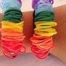 Rainbow loom funky bracelet