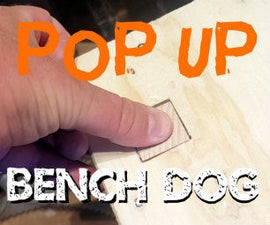 Pop Up Bench Dogs