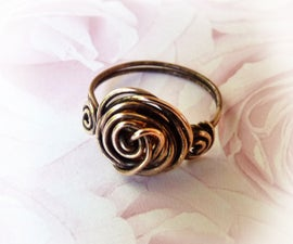 Wire Roses Ring