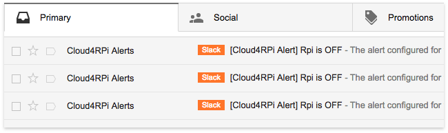 Picture of Forward Gmail Alerts to Slack