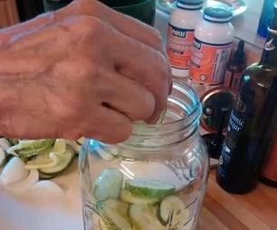Sweet Fermented Pickles