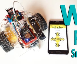 NodeMCU ESP8266 - WiFi Robot Car Controlled by Application (Wifi Bot / Android / IoT)