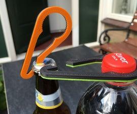 2-in-1 3D Printed Bottle Opener