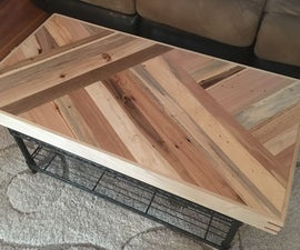 The Pallet Coffee Table