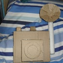 Cardboard Props: How to make a 1950's type Press Camera