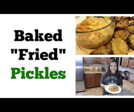 Baked Fried Pickles - Game Day Favorite