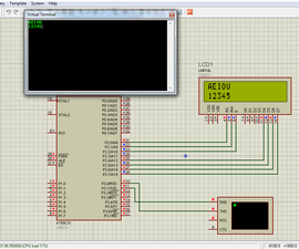 PC Keyboard Interfacing With 8051 Microcontroller