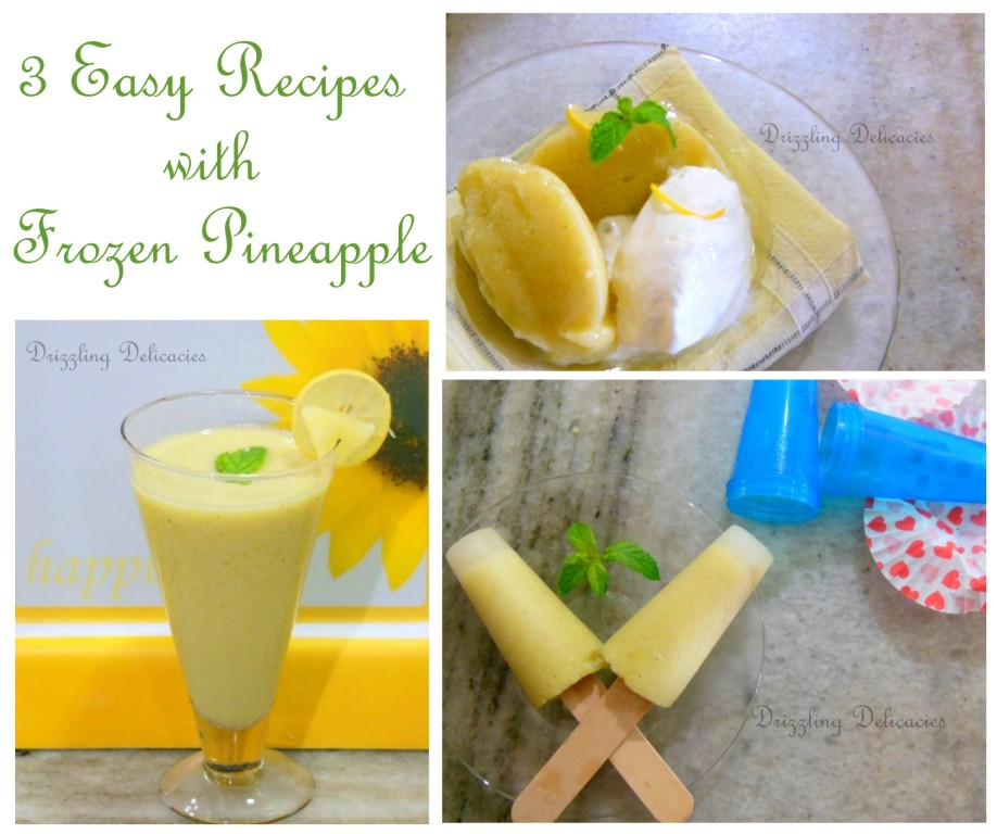 Picture of 3 Ways to Use Frozen Pineapple