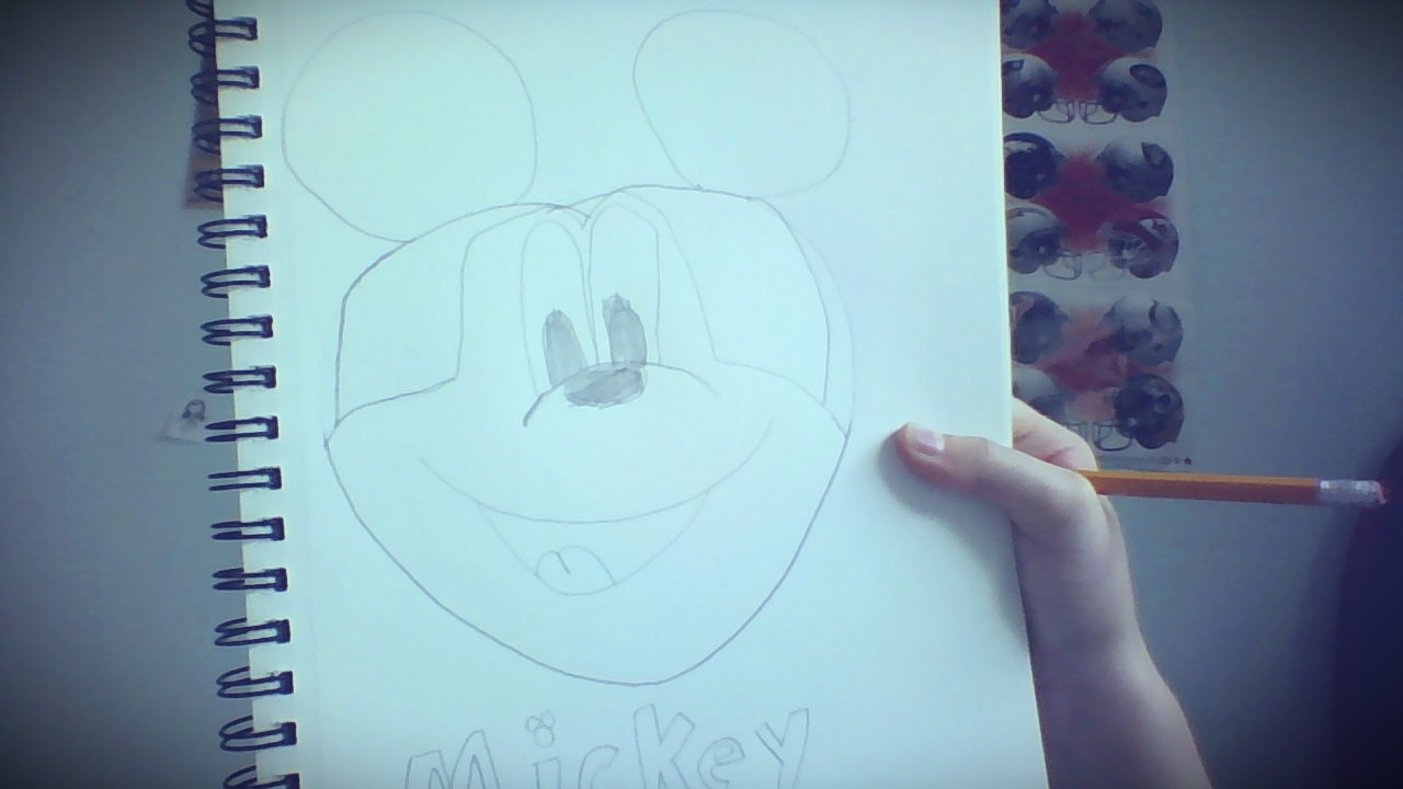 Picture of How to Draw Mickey Mouse