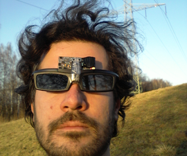 High Voltage Alternating Occlusion Training Glasses  [ATtiny13]
