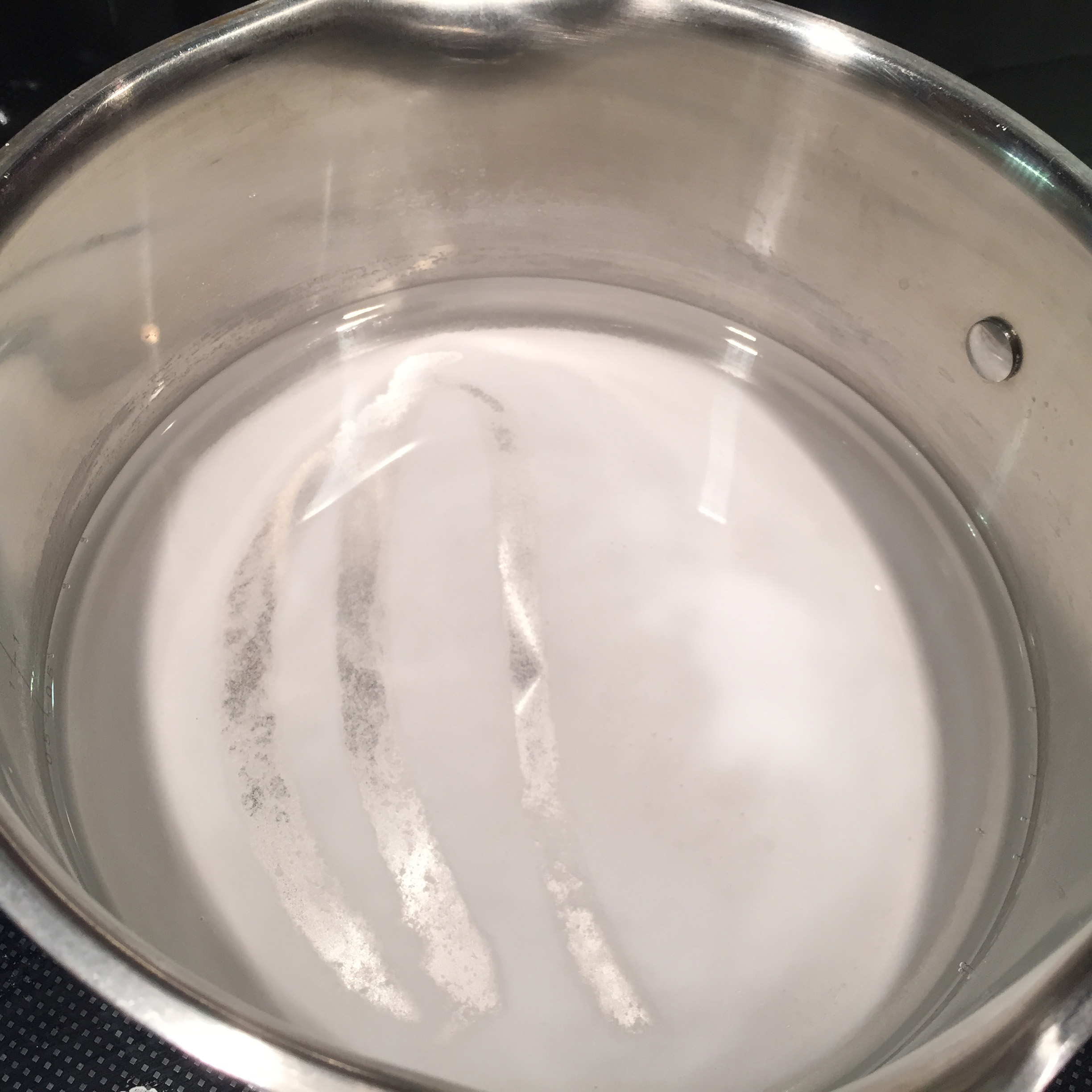 Picture of Begin by Making a Super Saturated Baking Soda Solution