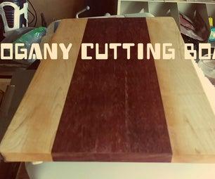 Mahogany Flooring Cutting Board
