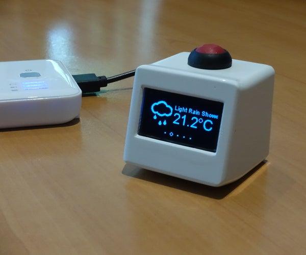 Miniature Weather Station - ESP8266
