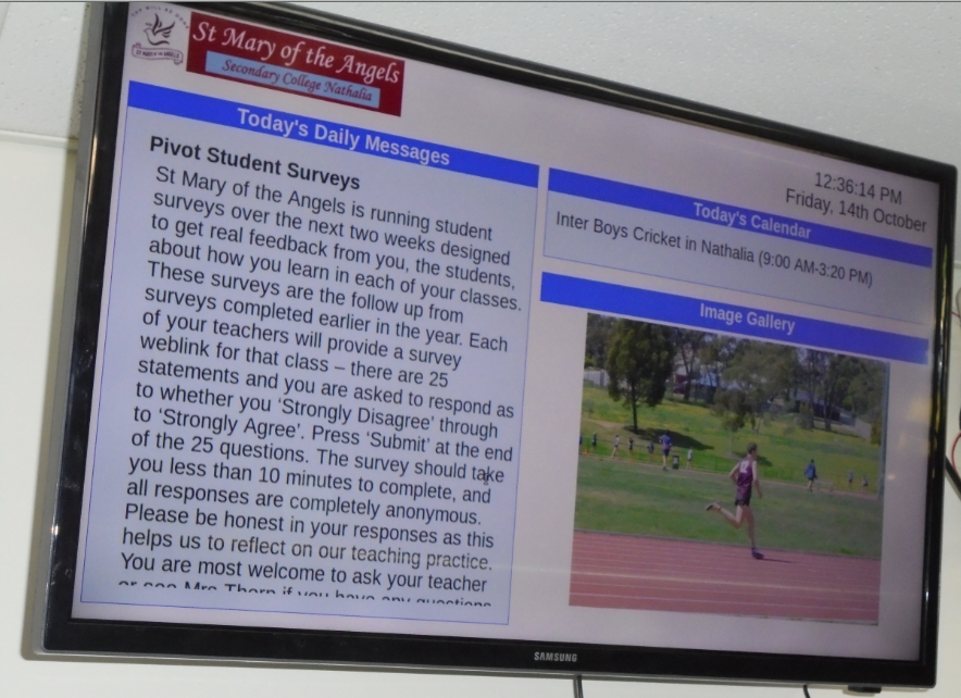 Picture of Digital Notice Board for Schools