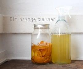 homemade orange cleaner