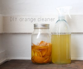 homemade orange cleaner