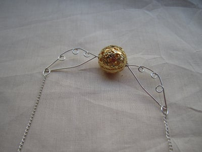 Attach Chain and Clasp.