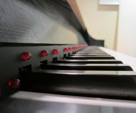 LED Piano Learning Strip