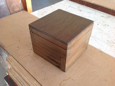 Small Wooden Box