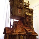 Harry Potter - The Weasley's Burrow Gingerbread House