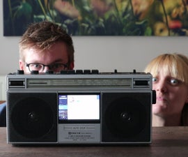 Project BoxBoom - 80's Boombox Revamped