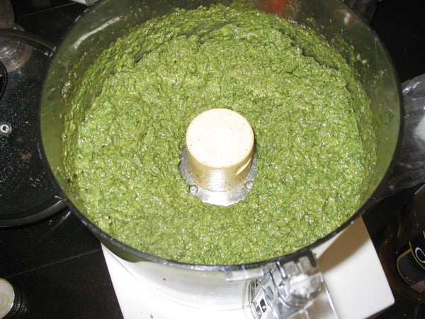 Pesto - Recipe With Basil, Garlic, and Pine Nuts