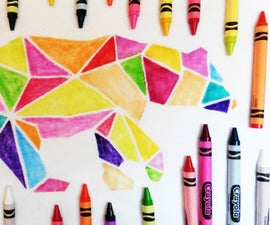 Crayon Colored Shirt