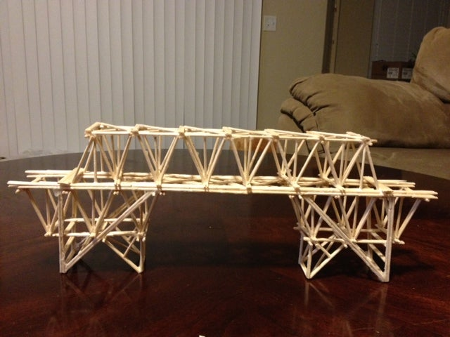 Toothpick Bridge Project 7 Steps Instructables