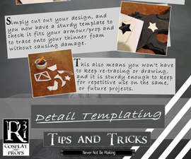Working With Foam Tips and Tricks - Details and Templating