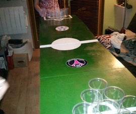 How to build a foldable beer pong table !