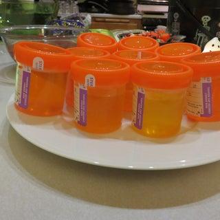 Urine Test Jell-o Shots