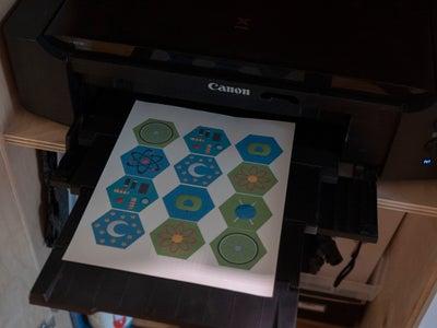 Print and Iron on (Optional)