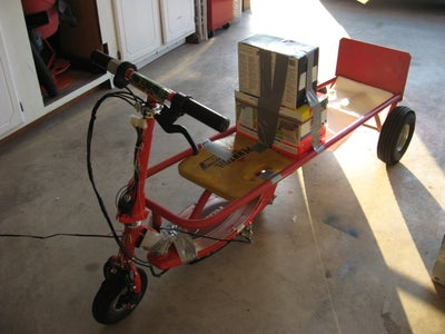 Go Kart From Electric Scooter