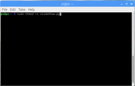 Make the File Executable